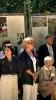 В центрі – Ганна Шанявська, авторка виставки «Пам'яті Ірени Сандецької»