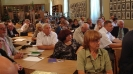 Учасники «Діалогу двох культур - 2011» в інститутському читальному залі ім. Ю. Словацького.