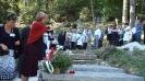 Біля могили пані Ірени Сандецької