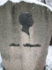 Pamiątkowy głaz na terenie dworku Adama Mickiewicza w Nowogródku