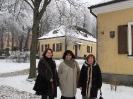 На подвір'ї музею Адама Міцкевича в Новогрудку