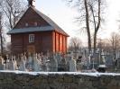 с.Гроднікі  цвинтарна каплиця у підземеллях якої поховані Снядецькі