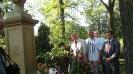 Покладання квітів на могилу матері Поета - Саломеї Словацької