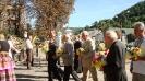 Покладання квітів до пам'ятника Кобзарю представниками офіційної делегації